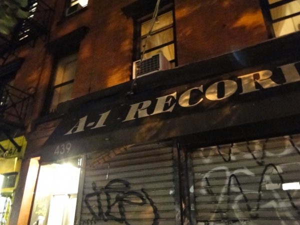 A1 Record shop, New York.