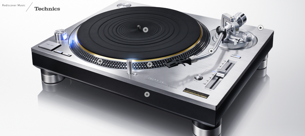 Turntable Technics 1200, 1210, year 2016, all new, the return.